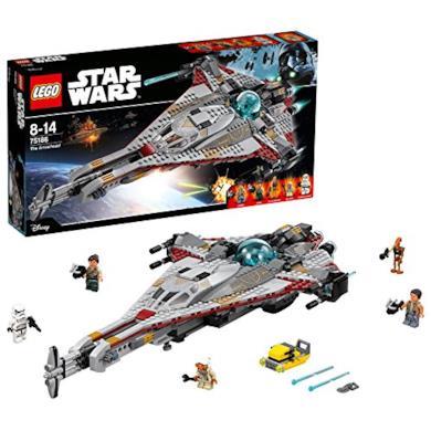 LEGO- Star Wars Arrowhead Costruzioni Piccole Gioco Bambina Giocattolo, Multicolore, 75186