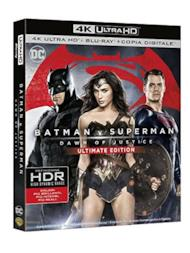Batman V Superman: Dawn of Justice (Blu-Ray 4K UltraHD + Blu-Ray + Copia digitale)