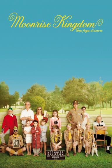 Poster Moonrise Kingdom - Una fuga d'amore