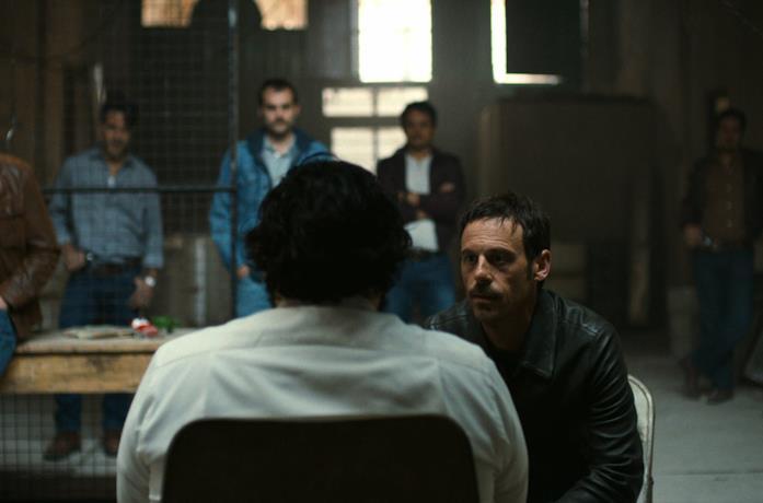 Un'immagine tratta dagli episodi di Narcos: Messico 2