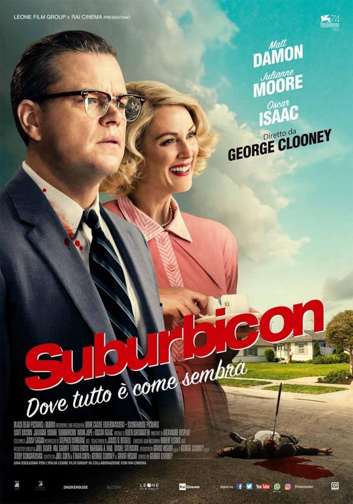 Il poster di Suburbicon