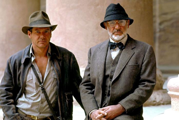 Harrison Ford e Sean Connery