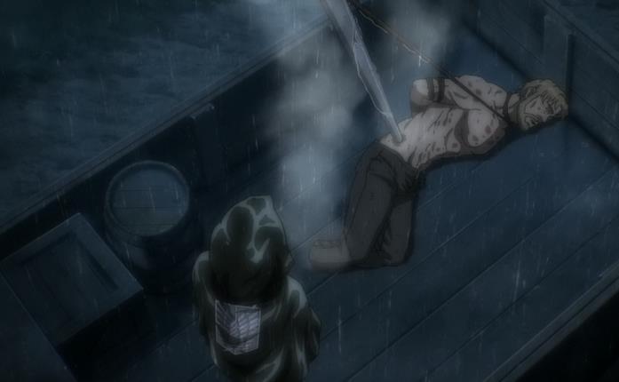 Levi tiene a bada il potere di Zeke