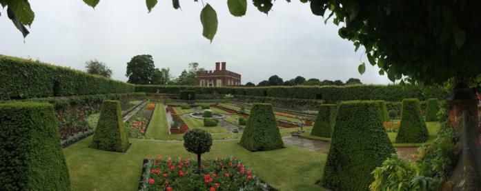 Hampton Court, set di Pirati dei Caraibi - Oltre i confini del mare