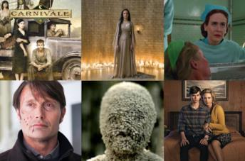 Collage delle serie simili ad American Horror Story
