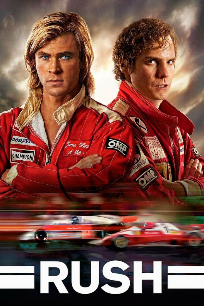 Il poster di Rush