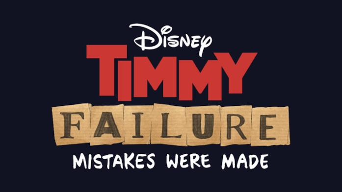 Il logo ufficiale del film Timmy Failure: Mistakes were made