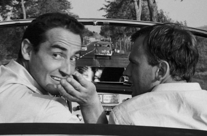 Un'immagine del film Il Sorpasso