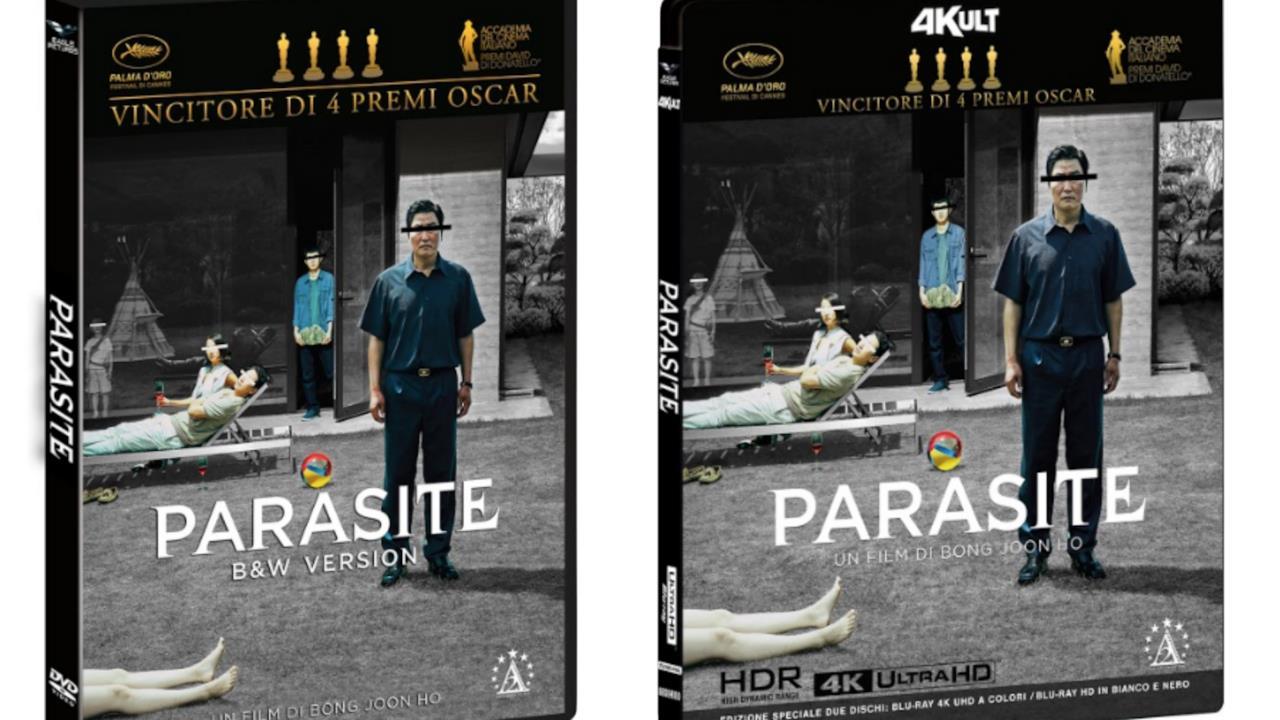 Parasite |  arriverà anche in italia il cofanetto con la versione in bianco e nero del film