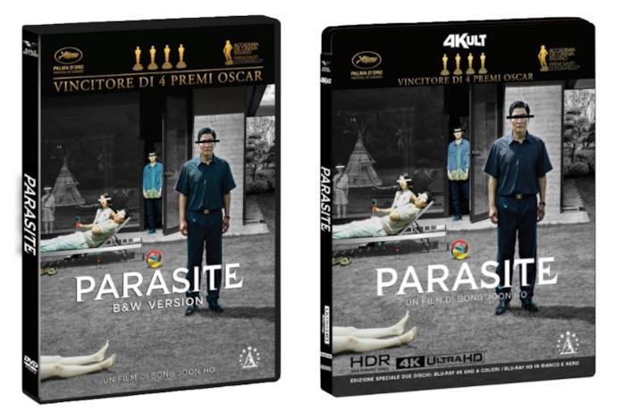 I case dell'edizione oppia di Parasite