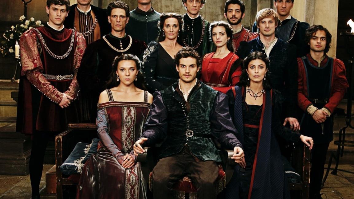 Il cast de I Medici