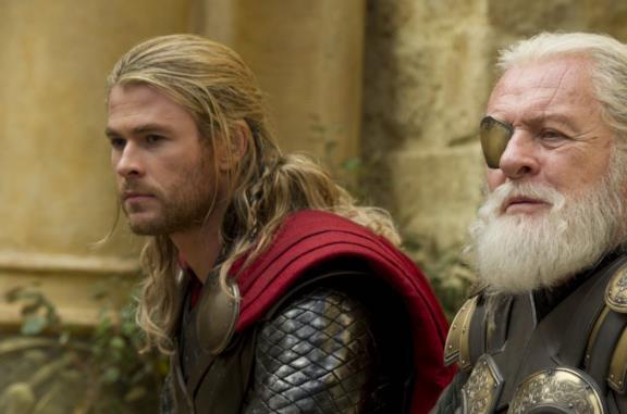 Una scena di Thor: The Dark World