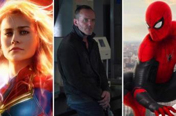 Captain Marvel, Sarge e Spider-Man