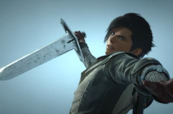 Uno dei personaggi del trailer di Final Fantasy 16