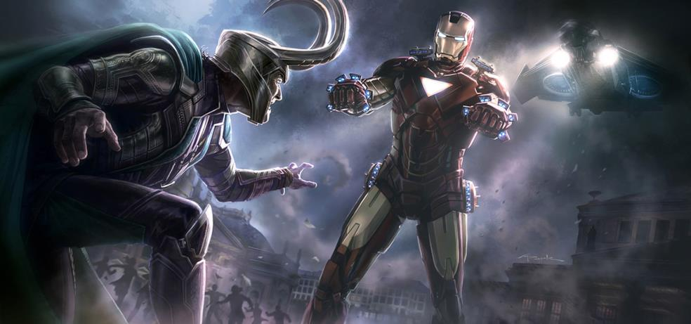 Iron Man ferma gli omicidi di Loki nella scena a Vienna
