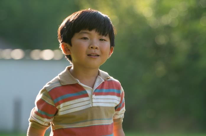 Il piccolo David, protagonista di Minari