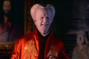 Gary Oldman nei panni di Dracula in Dracula di Bram Stoker