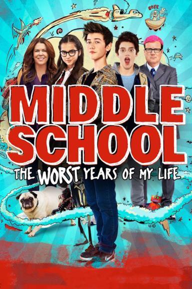 Poster Scuola media: Gli anni peggiori della mia vita