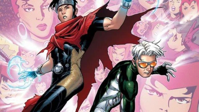 Dettaglio della cover di Young Avengers Presents #3