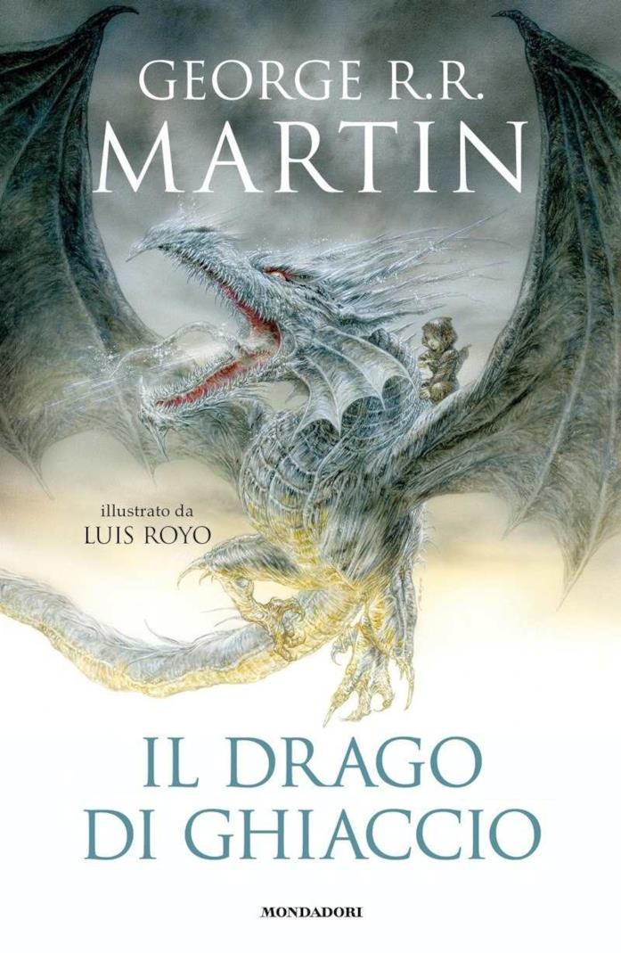 Cover del libro, Il Drago di Ghiaccio