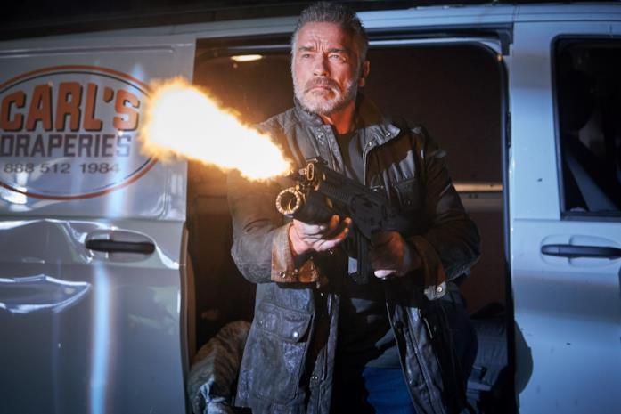 Arnold Schwarzenegger in Terminator - Destino oscuro