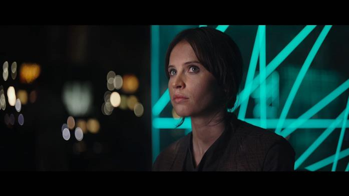 Jones in Rogue One: A Star Wars Story