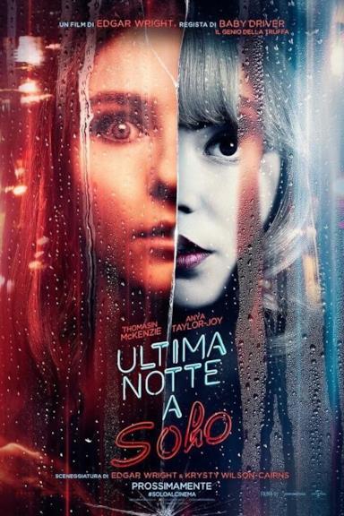 Poster Ultima notte a Soho