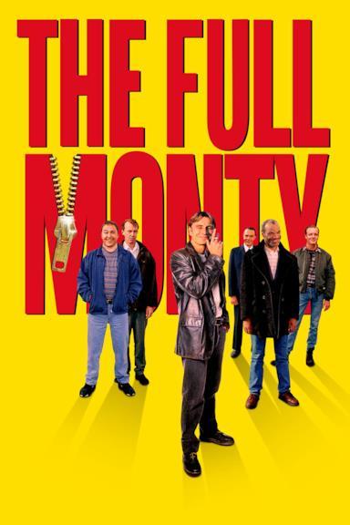 Poster Full Monty - Squattrinati organizzati
