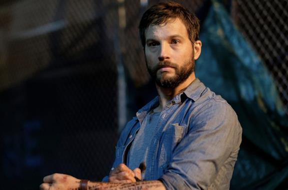 Primo piano di Logan Marshall-Green in Upgrade