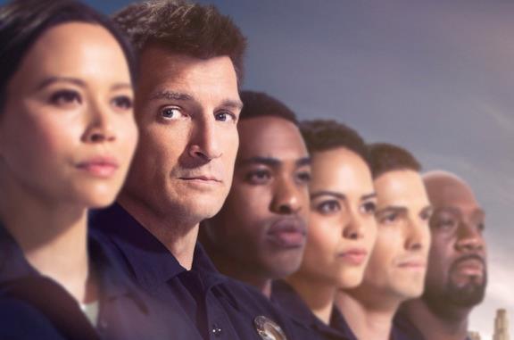 Il cast di The Rookie 3, la serie con Nathan Fillion protagonista