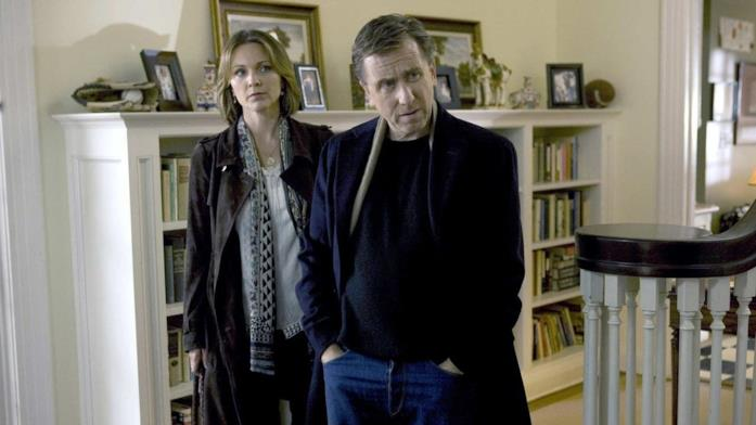 Kelli Williams e Tim Roth in Lie To Me