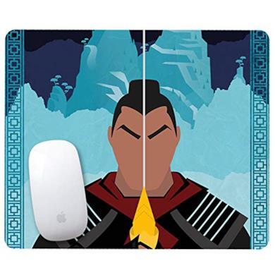 Publiassia Stamperia Mulan 7 Mousepad Tappetino per Mouse Idea Regalo Collezione Personaggi Serie TV Divertente Tastiera Ufficio Gadget Lavoro Accessori pc Disney Cartoni TV Film Collezione Bambini