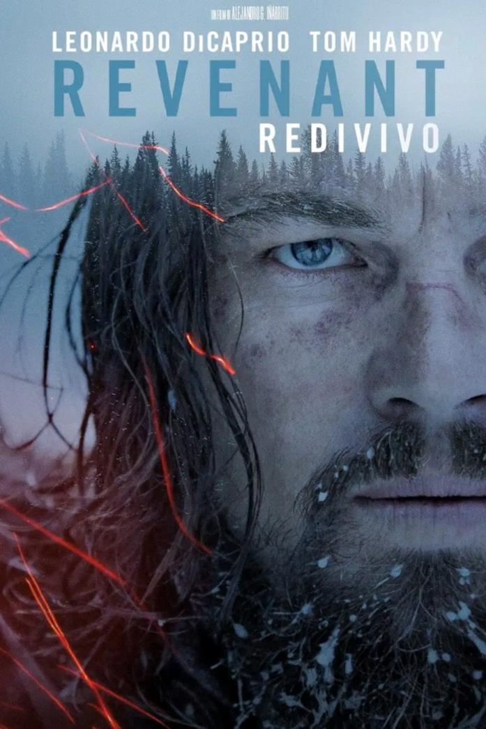 Leonardo DiCaprio sulla locandina italiana di The Revenant