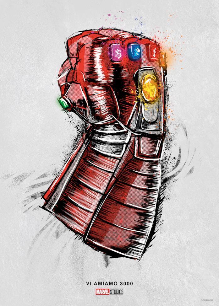 Avengers guanto dell'Infinito Iron Man