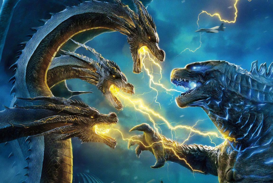 King Ghidorah contro Godzilla