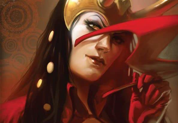 Dettaglio della cover di Mighty Avengers #29