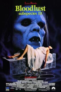 Poster Bloodlust: Subspecies III