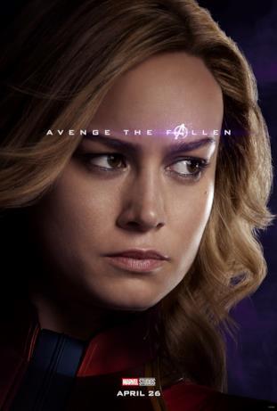 Avenger the fallen, i sopravvissuti: Captain Marvel