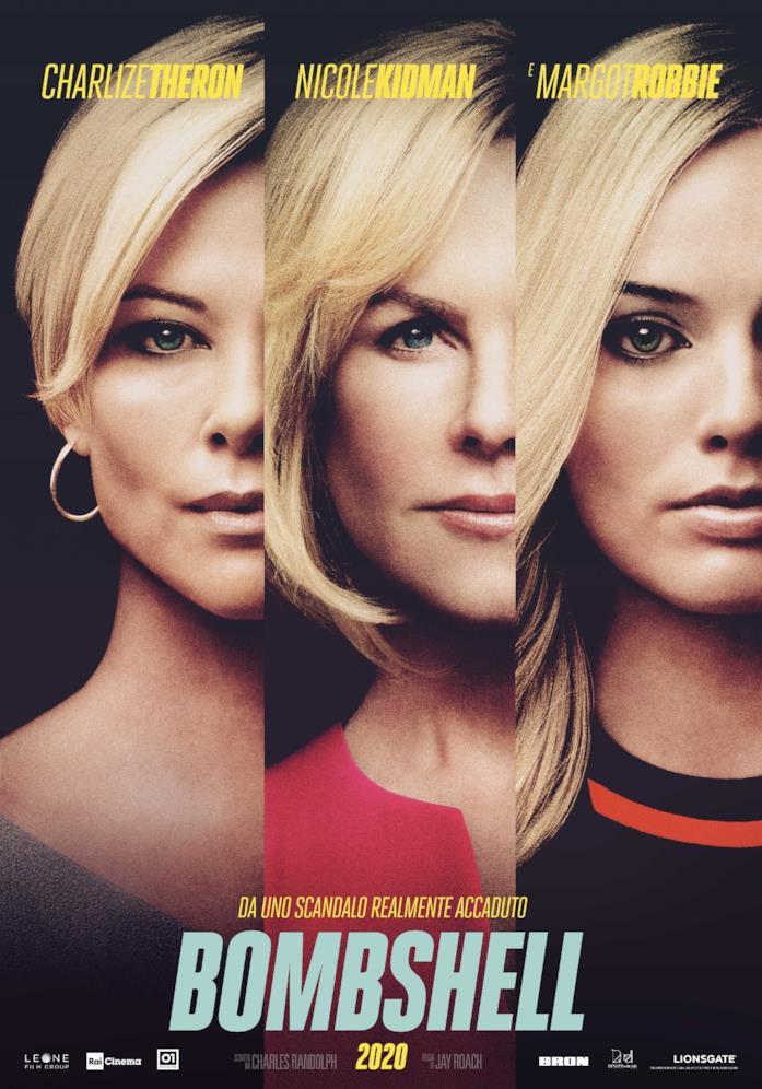 Charlize Theron, Nicole Kidman e Margot Robbie nel poster di Bombshell
