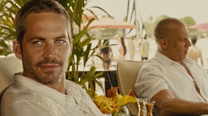 Paul Walker e Vin Diesel in una scena del film