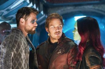 I guardiani incontrano Thor