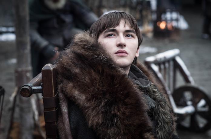 Bran a Grande Inverno nell'ultima stagione de Il trono di spade