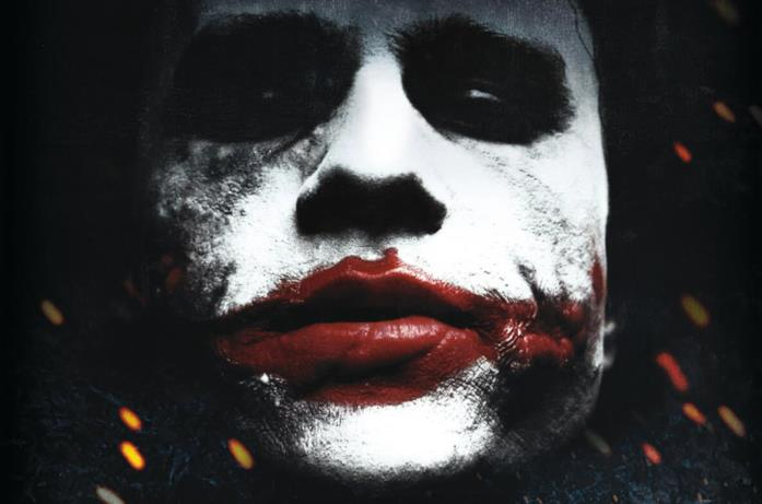 Heath Ledger come Joker