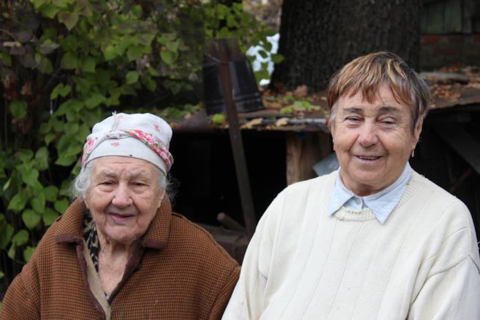 Due protagonisti di Samosely - I residenti illegali di Chernobyl