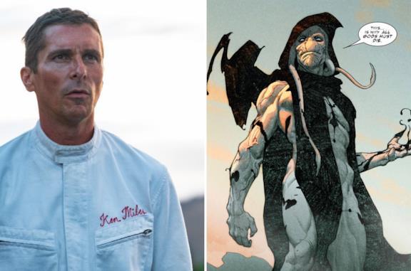 Thor: Love and Thunder, Christian Bale è Gorr The God Butcher nella foto dal set