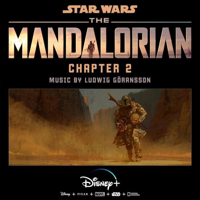 La copertina del secondo capitolo della colonna sonora della serie The Mandalorian