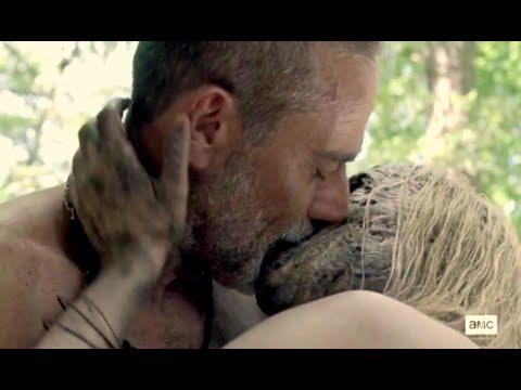 The Walking Dead 10, la scena di sesso tra Alpha e Negan