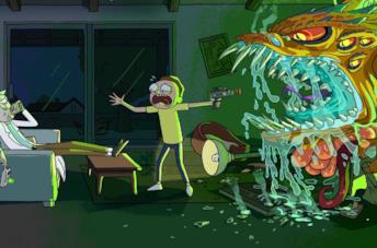 Rick and Morty: una scena tratta dalla serie TV
