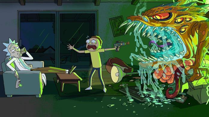 Rick and Morty: una scena tratta dalla serie TV
