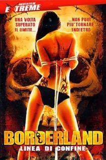 Poster Borderland - Linea di confine